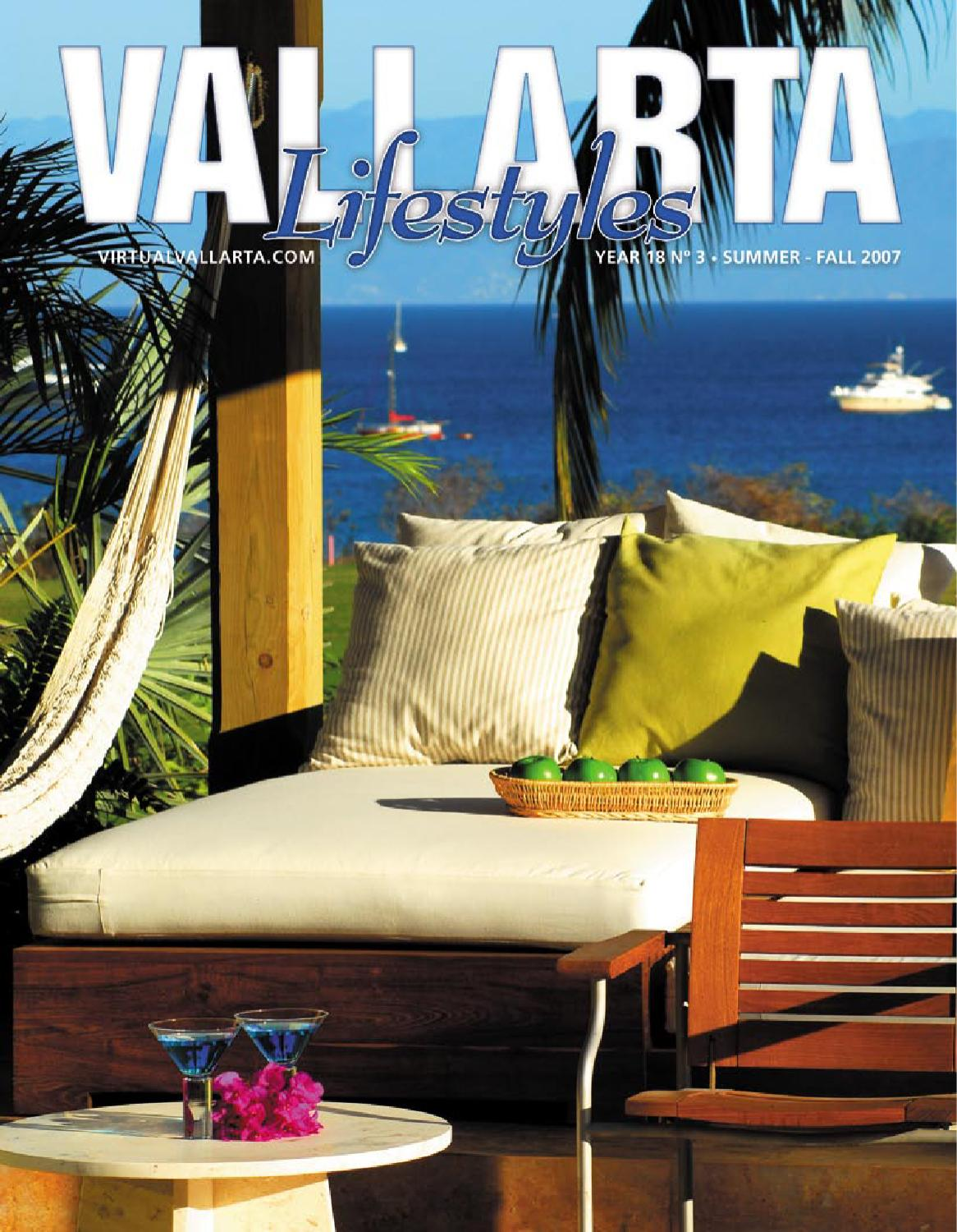 Vallarta Lifestyles Summer Fall 2007 By Vallarta Lifestyles  # Muebles Pitillal