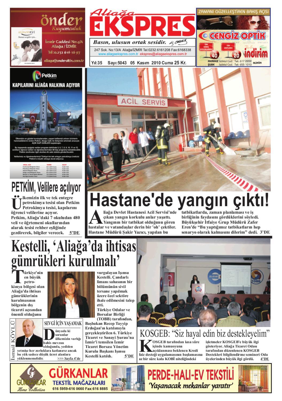 Aliaga Ekspres Gazetesi By Aliaga Ekspres Issuu