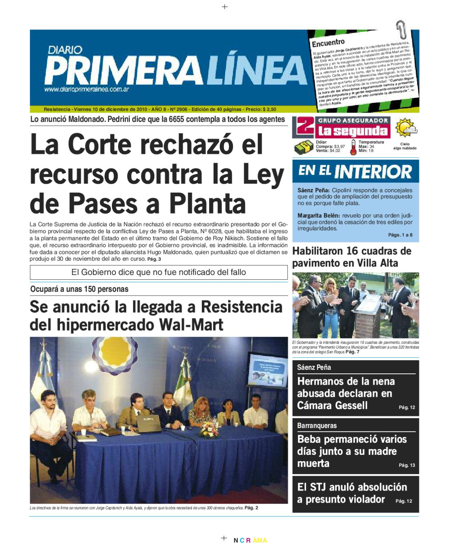 Primera Linea 2906 10-12-10 by Matías Mujica - issuu 39574e5551a7d