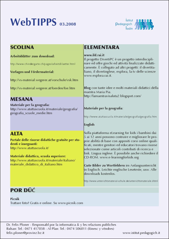 http://www.pedagogich.it/downloads/merz2008 by Istitut Pedagogich ...