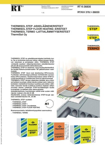 Rt Step By Thermisol Oy Issuu