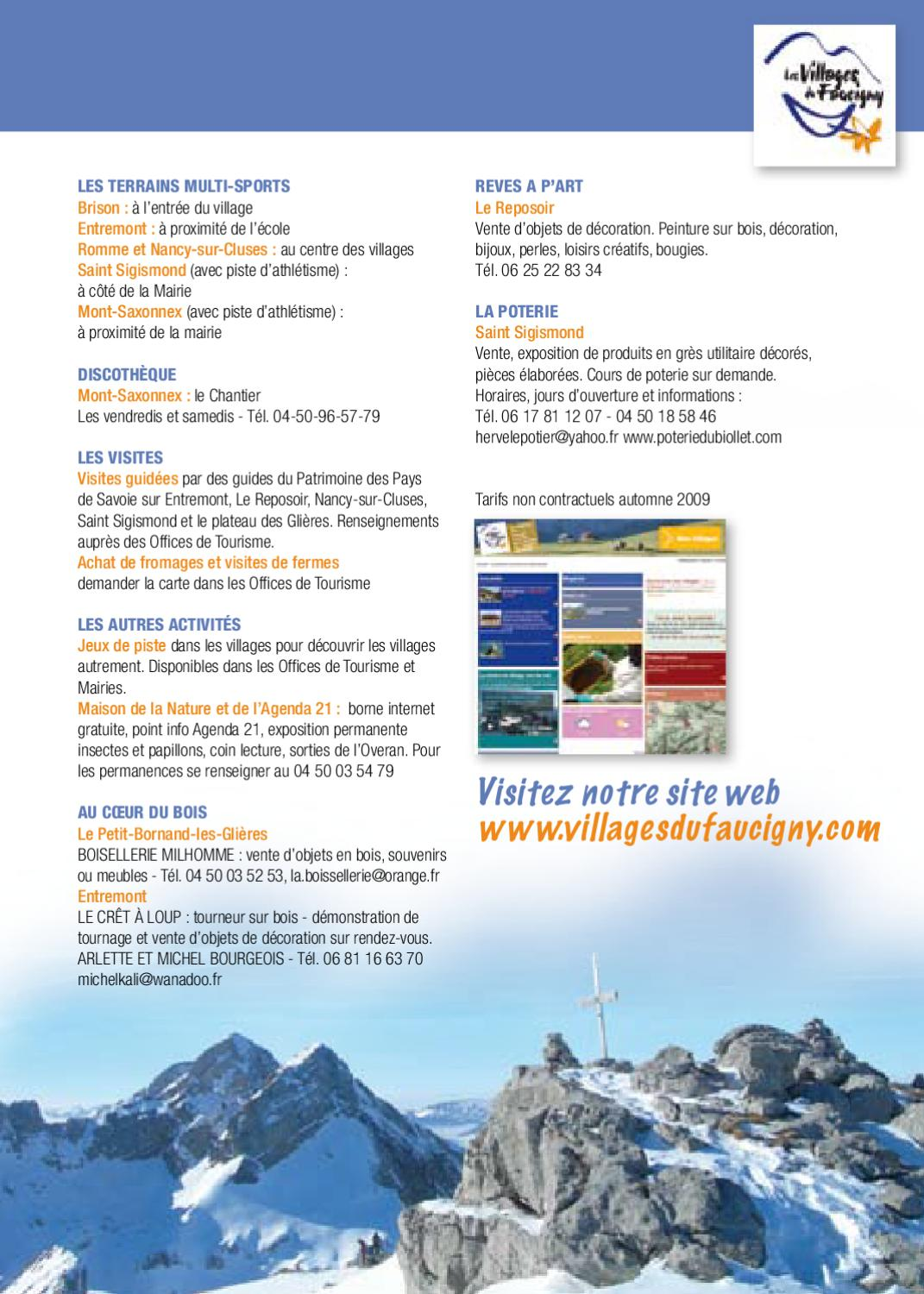 Brochure Hiver By Duval Alain