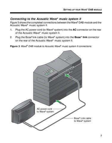 bose manual by david horton issuu rh issuu com Bose Wave Radio System Bose SoundDock Portable Speaker