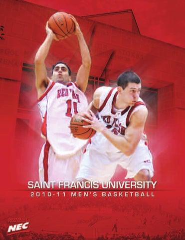 2010 11 Saint Francis University Mens Basketball Media Guide By