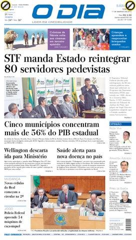 jornal o dia by Jornal O Dia - issuu c306c0057e1
