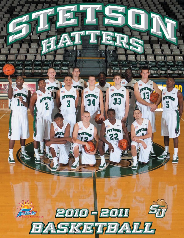 aa7c635854476d 2010-11 Stetson Men s Basketball Media Guide by Stetson University ...