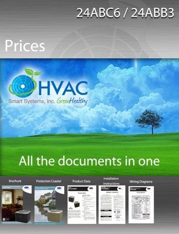 24ABB3 - 24ABC6 Condensadores Carrier HVAC Precios, Documentos todos