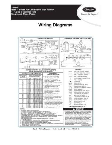 24abb3 - 24abc6 condensadores carrier hvac precios, documentos todos a un clik by hvac smart ... carrier 3 phase wiring diagram 208 volt 3 phase wiring diagram for range #14