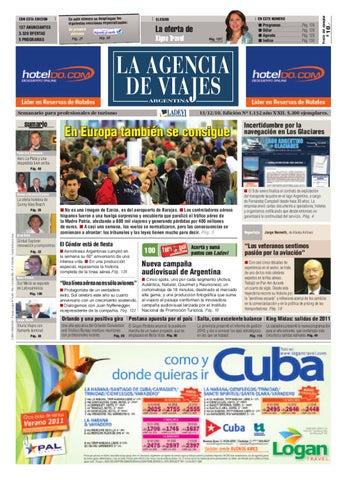 0d8b8cc5c2e5 La Agencia de Viajes Argentina Nº 1.132 by Ladevi Media   Solutions ...