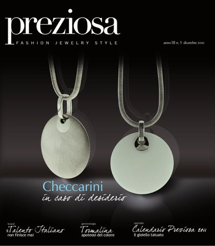 Preziosa n. 5 2010 by GOLDEN AGENCY - issuu 786130ce57a