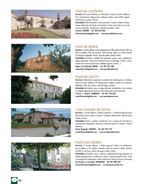 Pazos de galicia n 6 by pazos de galicia pazos de galicia for Sala 600 melide