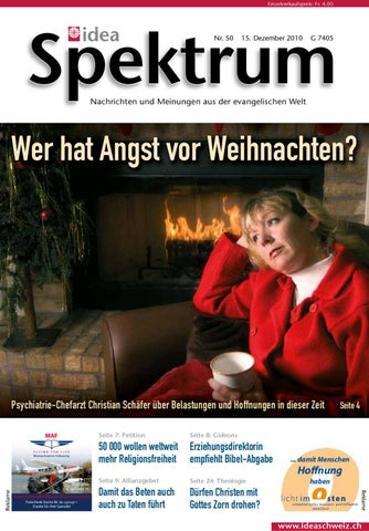 Idea Spektrum Schweiz 50/2010 by Jordi AG – das Medienhaus - issuu