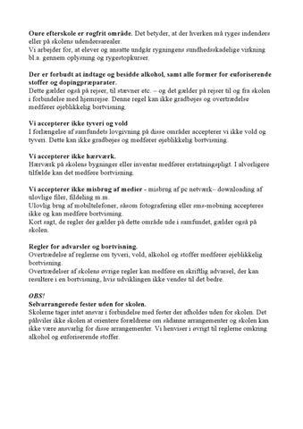 skriftlig advarsel regler