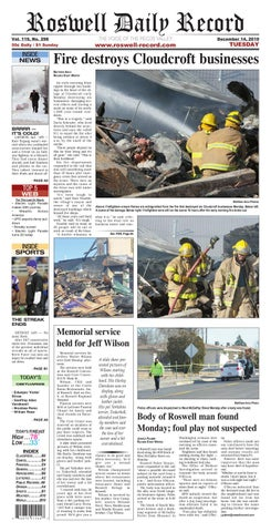 2d5a493cdf8 12-14-2010 by Roswell Daily Record - issuu