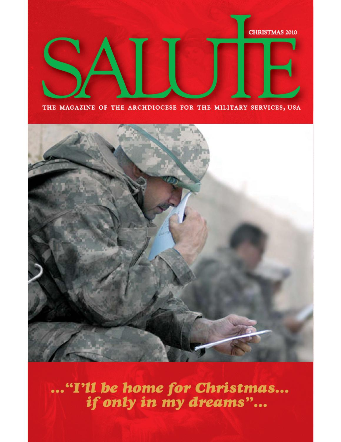 Salute Winter 2010 by Archdiocese for the Military Services, USA - issuu