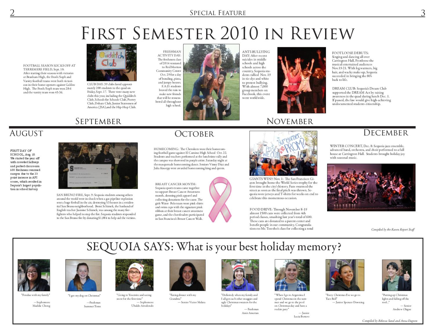 Raven Report Issue 4 by Sequoia High School Raven Report - issuu