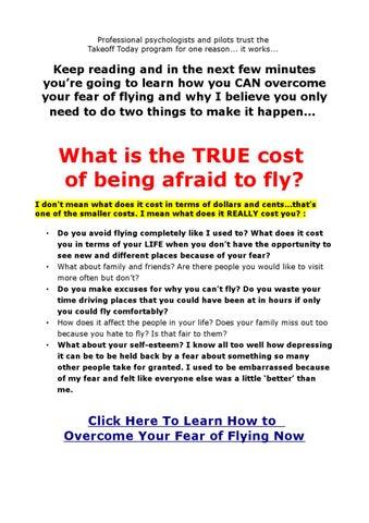 Anxiety With Flying by Deborah Herrera - issuu