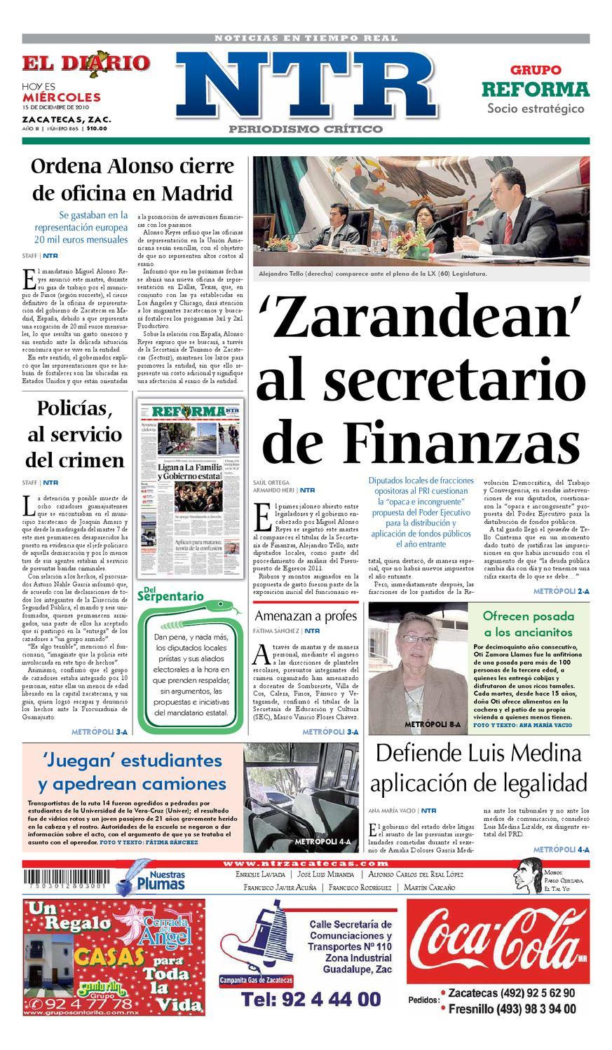 buy popular 4cecf 60406 El Diario NTR by NTR Medios de Comunicación - issuu