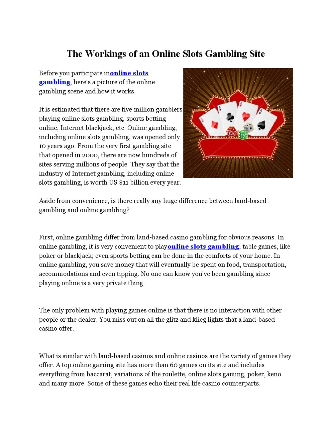 is online gambling illegal in us