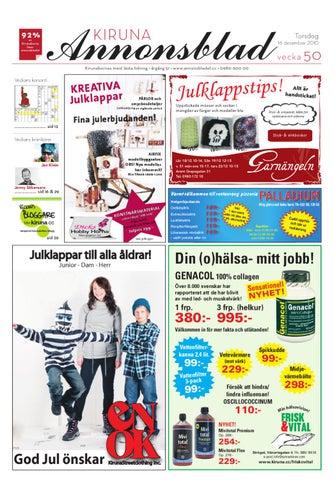 Kiruna Annonsblad 2010 v.50 by Svenska Civildatalogerna AB - issuu 5566239b36741