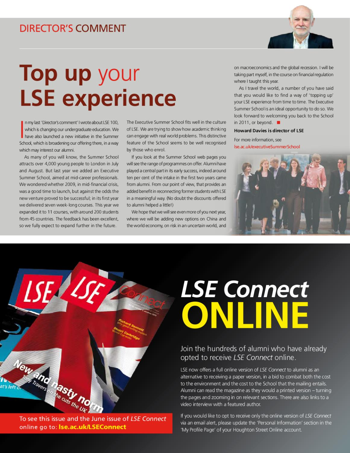 LSE Connect by London School of Economics - issuu