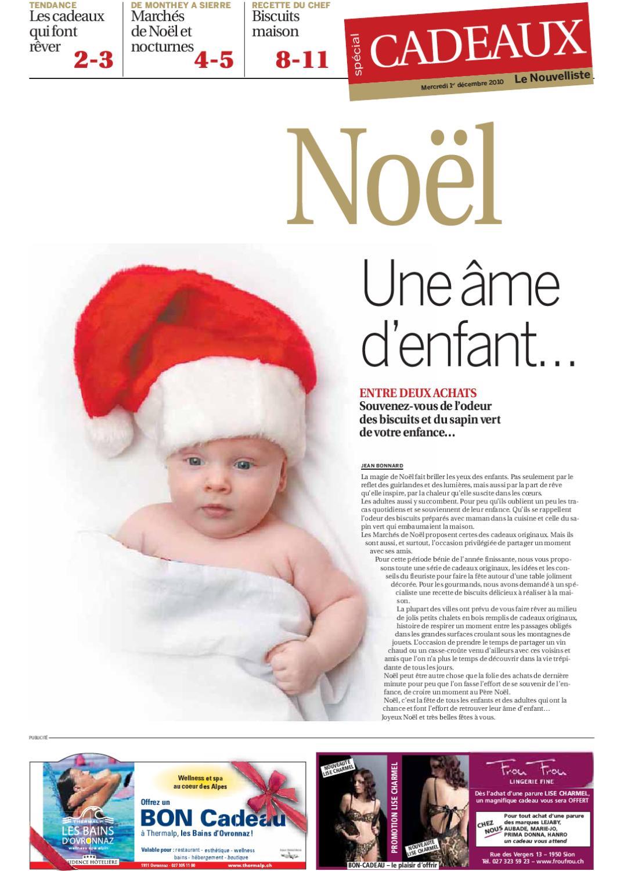 Cahier cadeaux 2010 by no lie berthod brand issuu - Odeur de sapin dans la maison ...