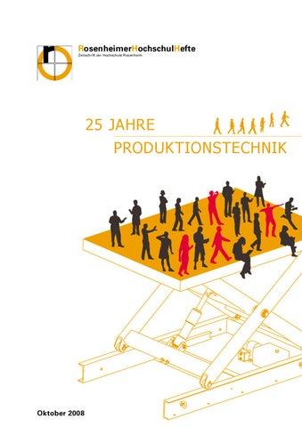 Festschrift 25 Jahre Produktionstechnik by Holger Emmerich - issuu