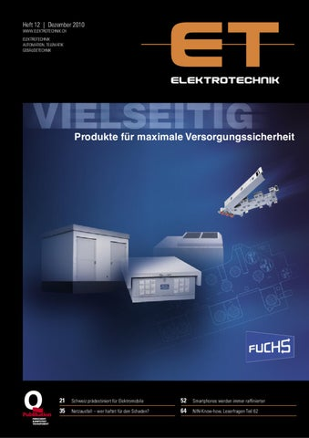 Elektrotechnik 2010/12 by Daniel Gugger - issuu