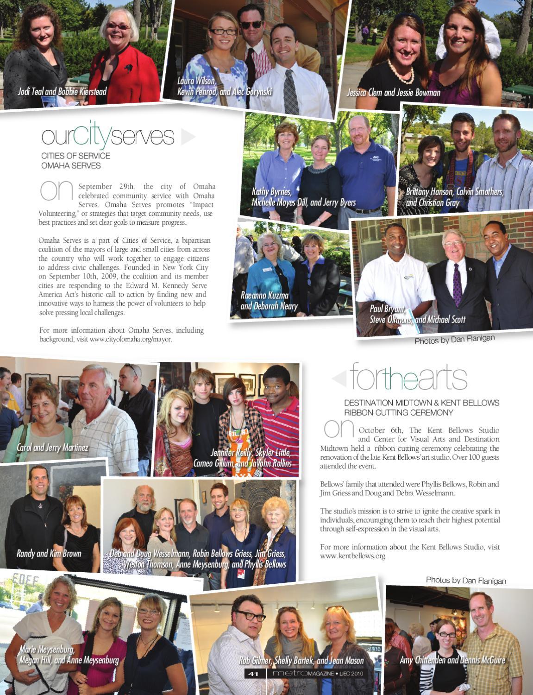 metroMAGAZINE's December 2010 Issue