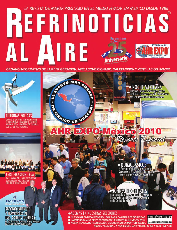 Refrinoticias al Aire Noviembre 2010 by BURO DE MERCADOTECNIA DEL ...