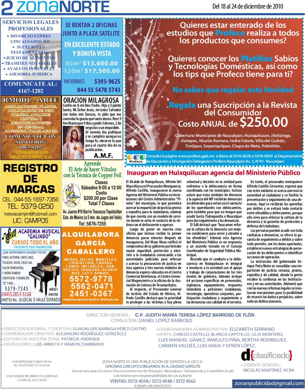 Semanario Zona Norte 1102 By Periódico Zona Norte Issuu