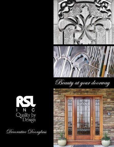 RSL Glass By US DOOR U0026 MORE INC   Issuu