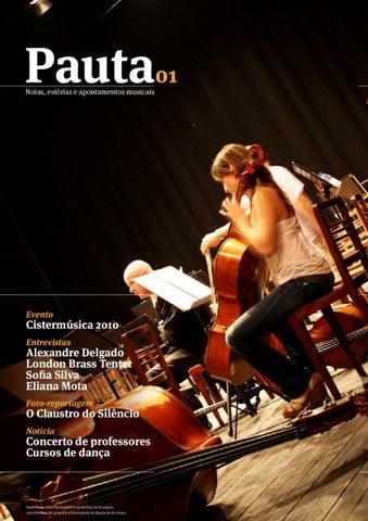 89a1cde9d4 PAUTA 01 by Academia de Música de Alcobaça - issuu