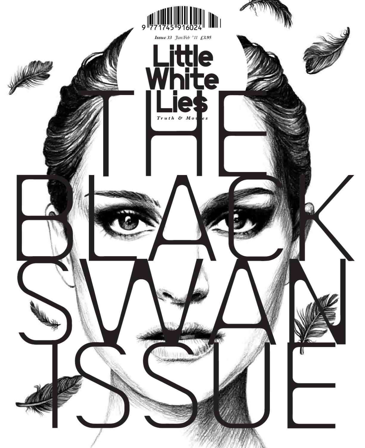 Little White Lies 33 The Black Swan Issue By Church Of London 3d Origami Love Boat Diagram Flickr Photo Sharing Issuu