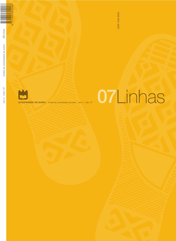 Revista Linhas 07 by Revista Linhas - Universidade de Aveiro - issuu 1dd583e25a362