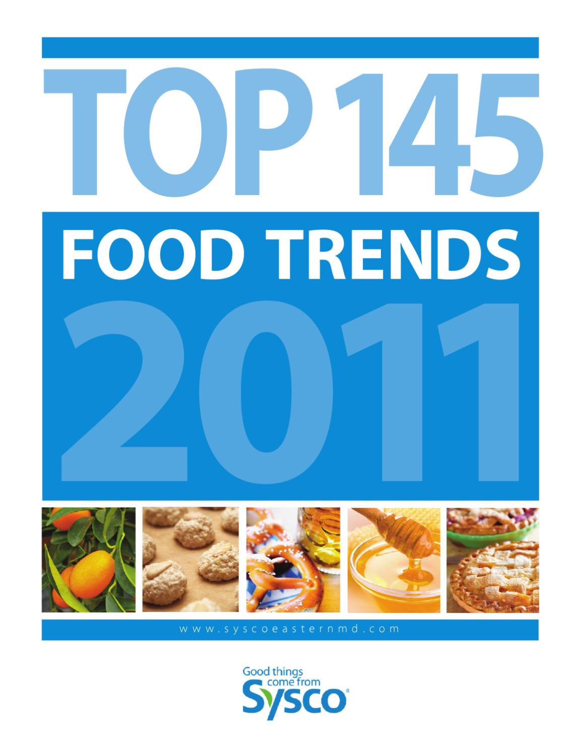 Food Trends 2016 by Sysco Arizona - issuu