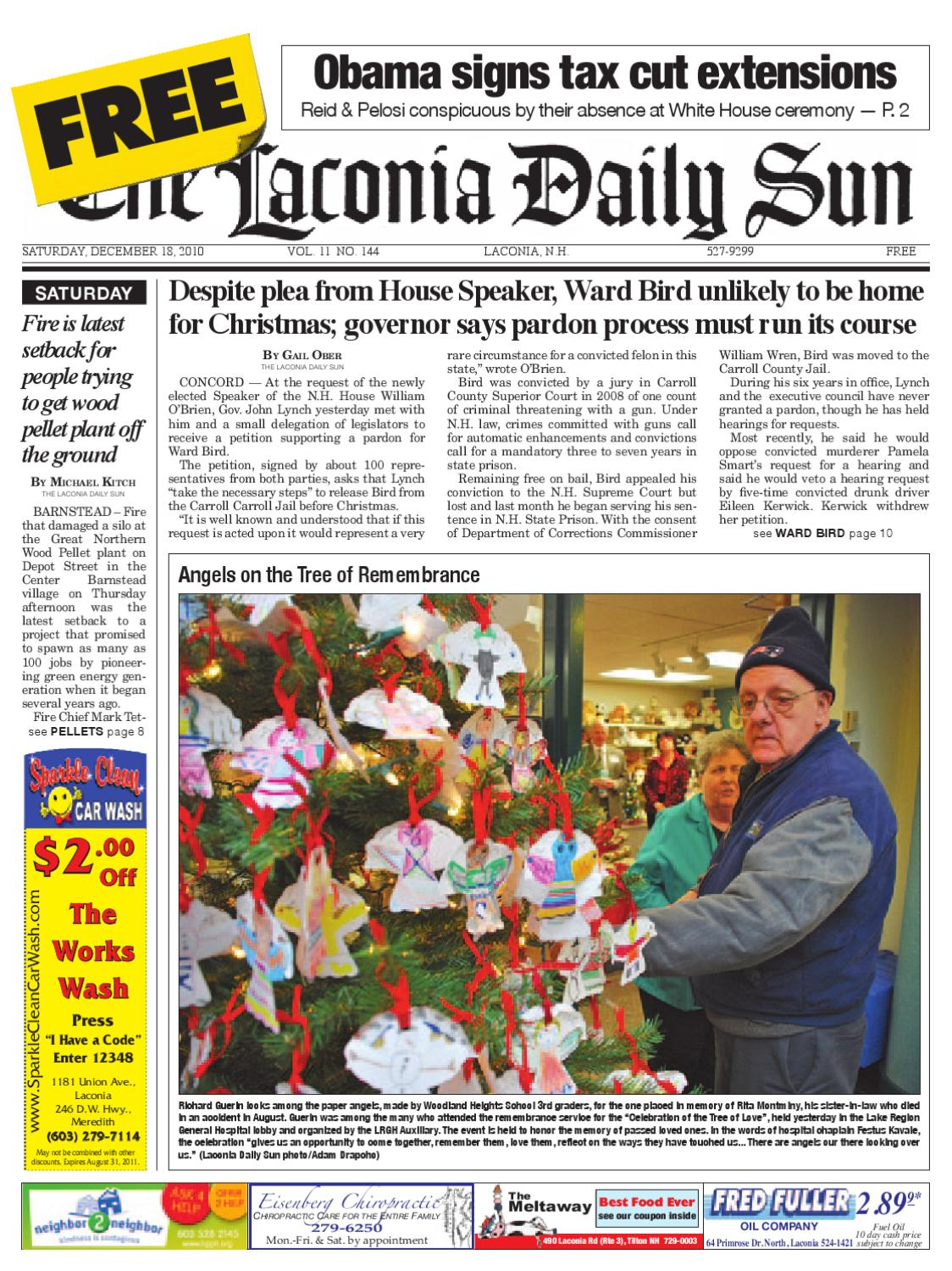 The Laconia Daily Sun, December 18, 2010 by Daily Sun - issuu
