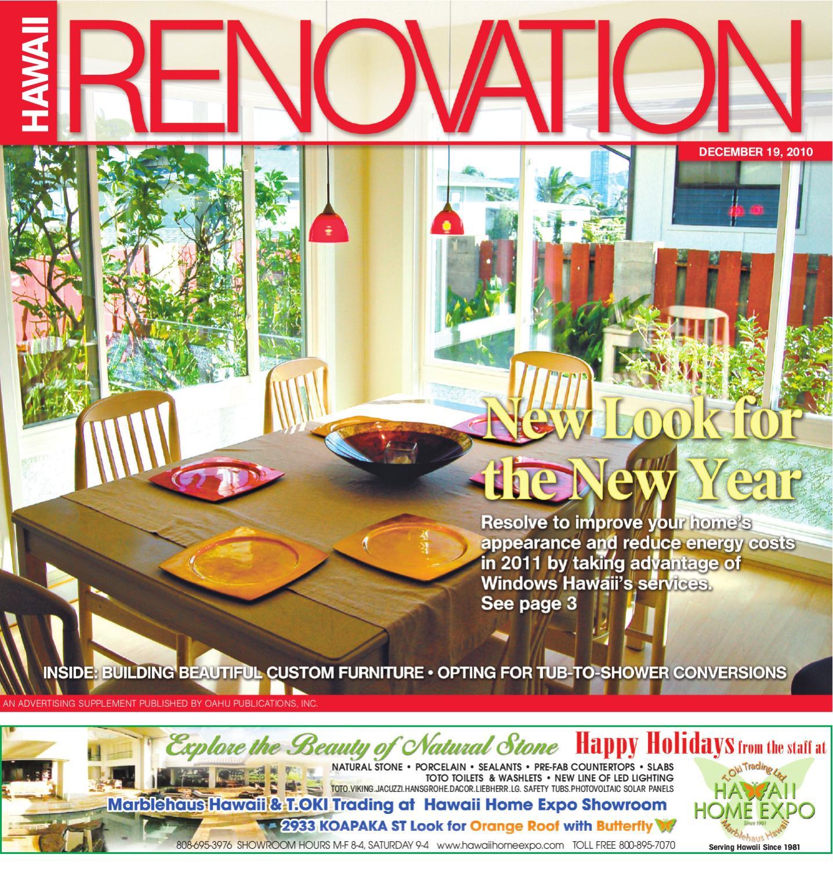 Hawaii Renovation 19 December 2010 by Oahu Publications, Inc