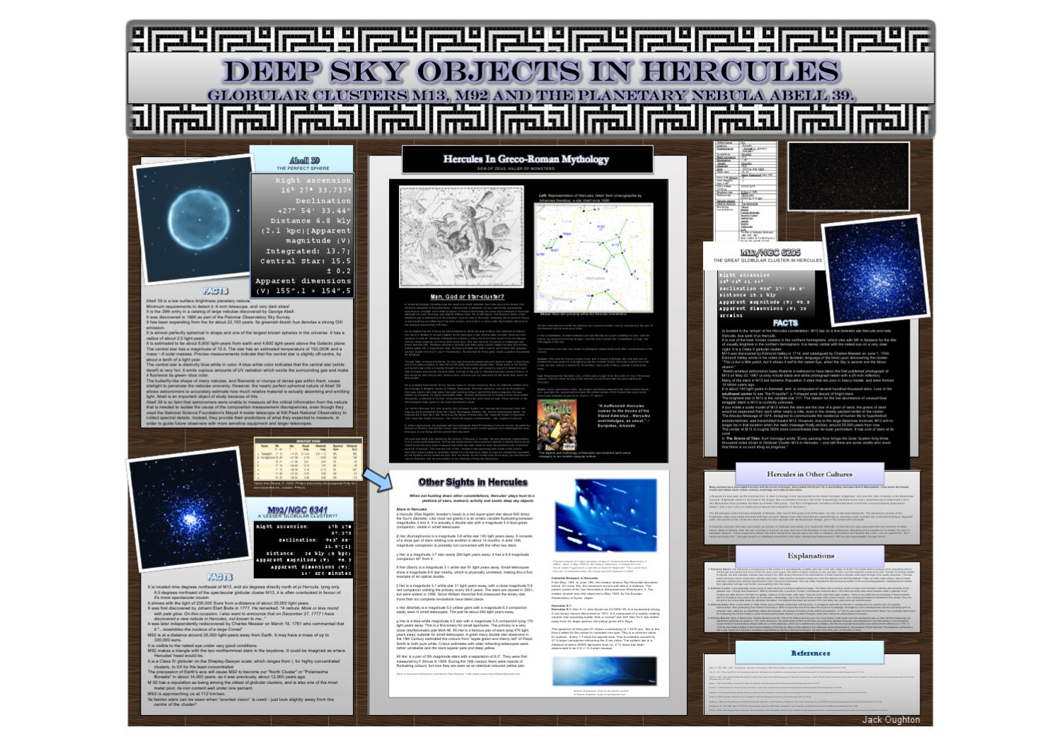 Jack Oughton - Hercules Scientific Poster by Jack Oughton