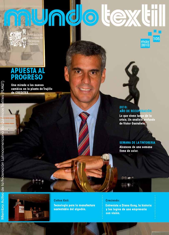 Revista textil 105 by asociacion peruana issuu - San carlos textil ...