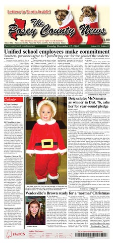 The posey county news december 21 edition letters to santa by the letters to santa inside spiritdancerdesigns Image collections