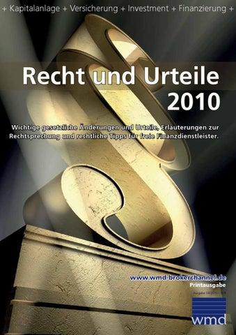 Recht Und Urteile 2010 By Astrid Klee Issuu