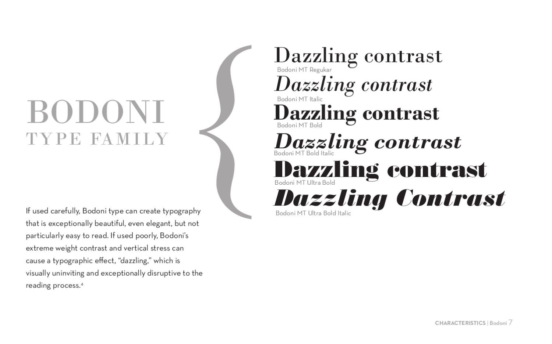 Bodoni Type Book by Alissa Millenson - issuu