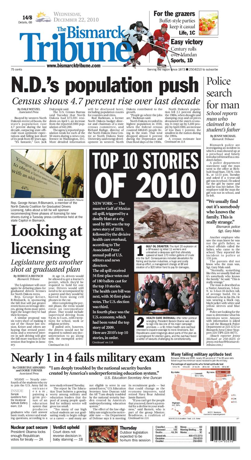 Bismarck Tribune Dec 22 2010 By Issuu Coin Microswitch With 3 Inch Wire 12ccs312 Marco Pinball Parts