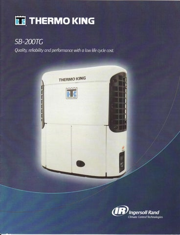 Thermo King SB200TG - SB310+ by New Asia Pacific - issuu