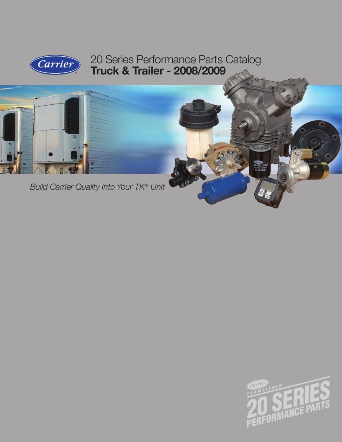 Carrier 20 Series Part Catalog By New Asia Pacific Issuu Generator Accessory Buy Safety Switchair Circuit Breakergenerator