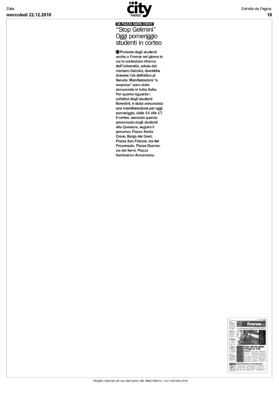 22 12 2010 Rassegna Stampa By Gaetano Cervone Issuu