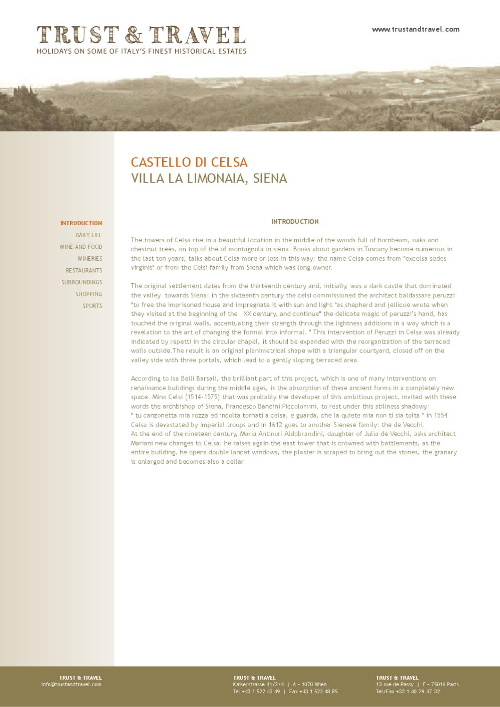 Bcc Montepulciano Nuova Sede tuscany: siena & castelllo di celsa - insider tips from