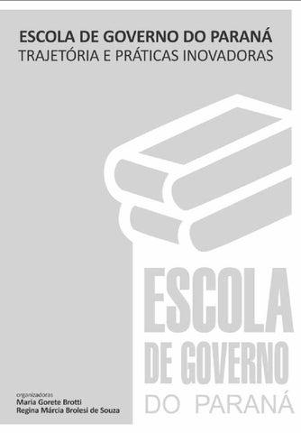 Escola de Governo do Paraná by Saberes SEAP - issuu 8a04aa42a9cc6