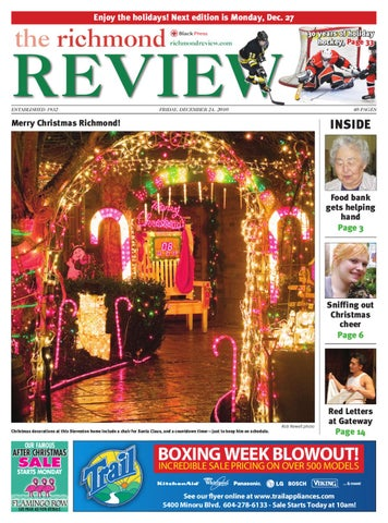 Dec 9 The Richmond Review Print Edition By Richmond Review Issuu